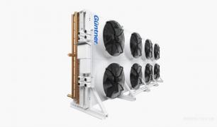 Dry coolers, condensers, air coolers, shockfrosters
