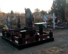 Granite monuments - production and installation, Odessa