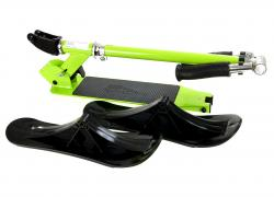 Kids snowmobile-scooter, green-black
