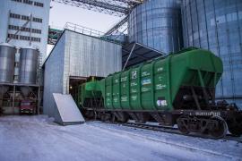 Logistics, railway transportation. Forwarding