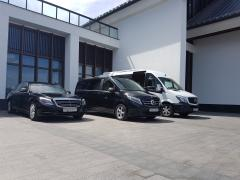Minibus hire in Minsk with the driver. Mercedes V-201