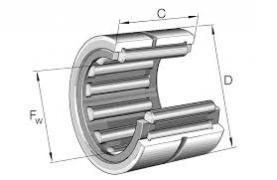 needle roller bearings NK series